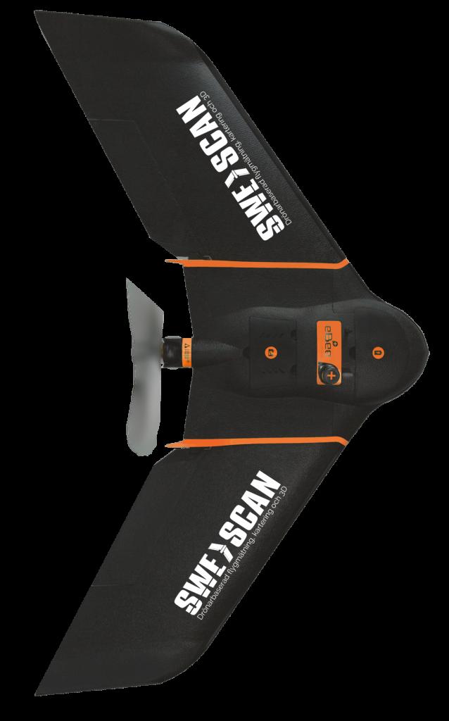 Drönare för flygmätning - Swescan