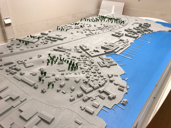 Visualisering av stad, underlag 3D-Print