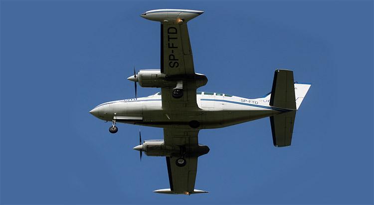 Flygning med multisensor